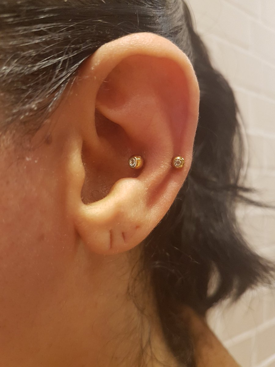 Metal Morphosis A Twitter Faux Snug Piercing Conch And Helix