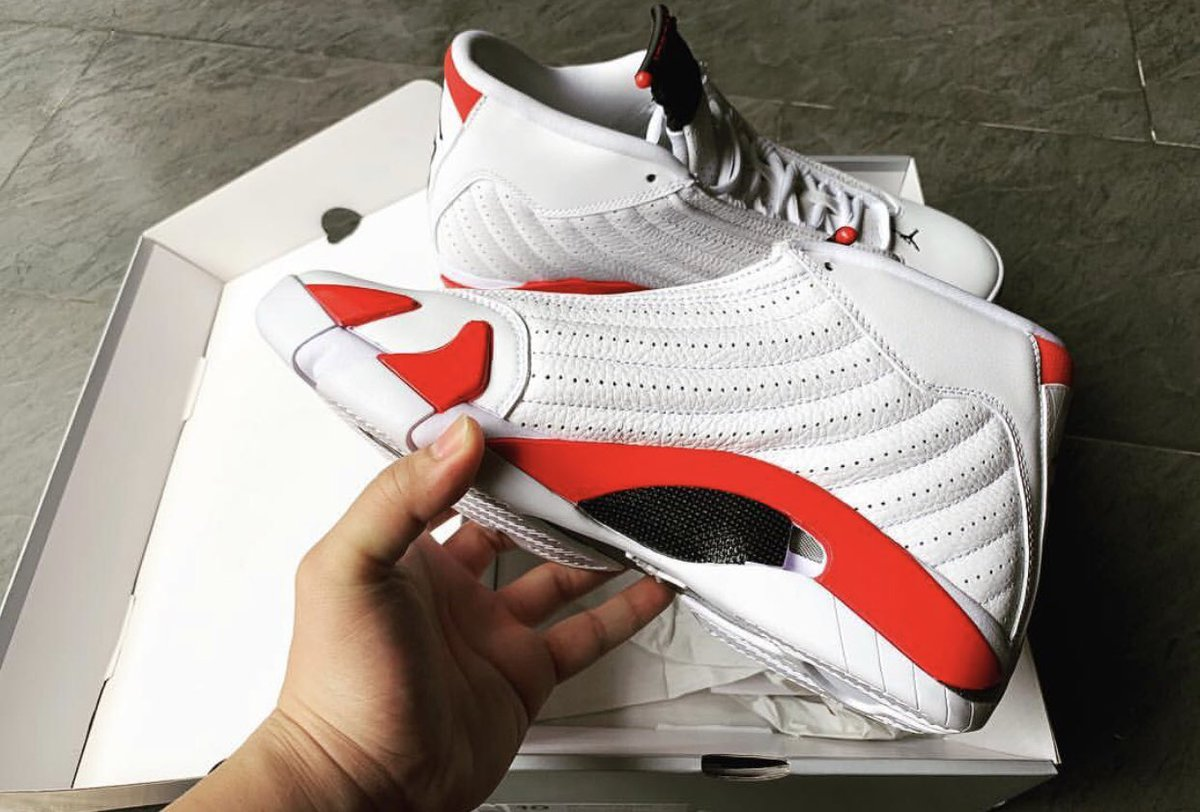 "9171c7d486084 ... ""Rip Hamilton"" Air Jordan 14 https   sneakerbardetroit.com air -jordan-14-rip-hamilton-white-varsity-red-metallic-silver-black-487471-100- release-date  ..."