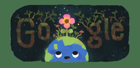 🌺🌍🌺 #GoogleDoodle #Primavera