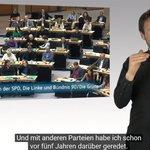 Image for the Tweet beginning: Das #AGH möchte Politik für