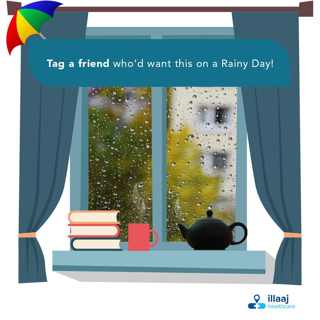 Let&#39;s brighten up somebody&#39;s gloomy day! Tag your friends. #tagafriend #rainyday #illaaj<br>http://pic.twitter.com/MjZReAdOiW