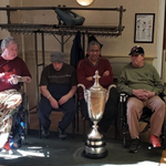 Image for the Tweet beginning: These Veterans in the @WNYPGA