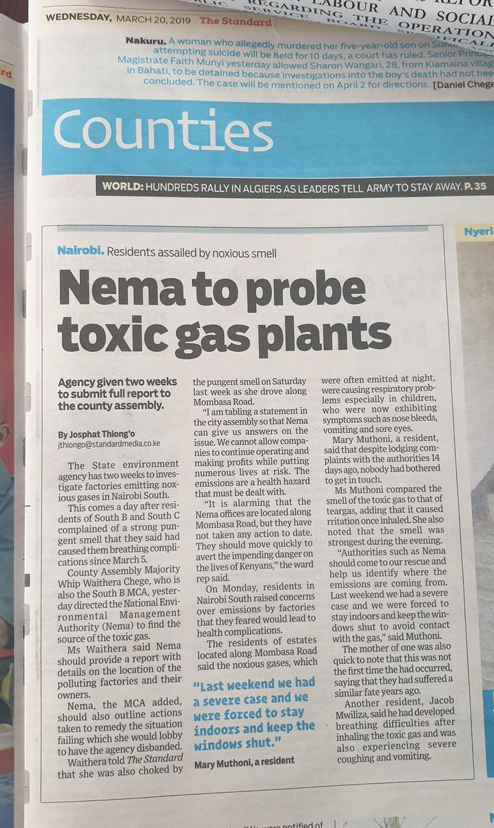 Newspaper Investigations Of Toxic >> Demetrius Mududa Dmududa Twitter