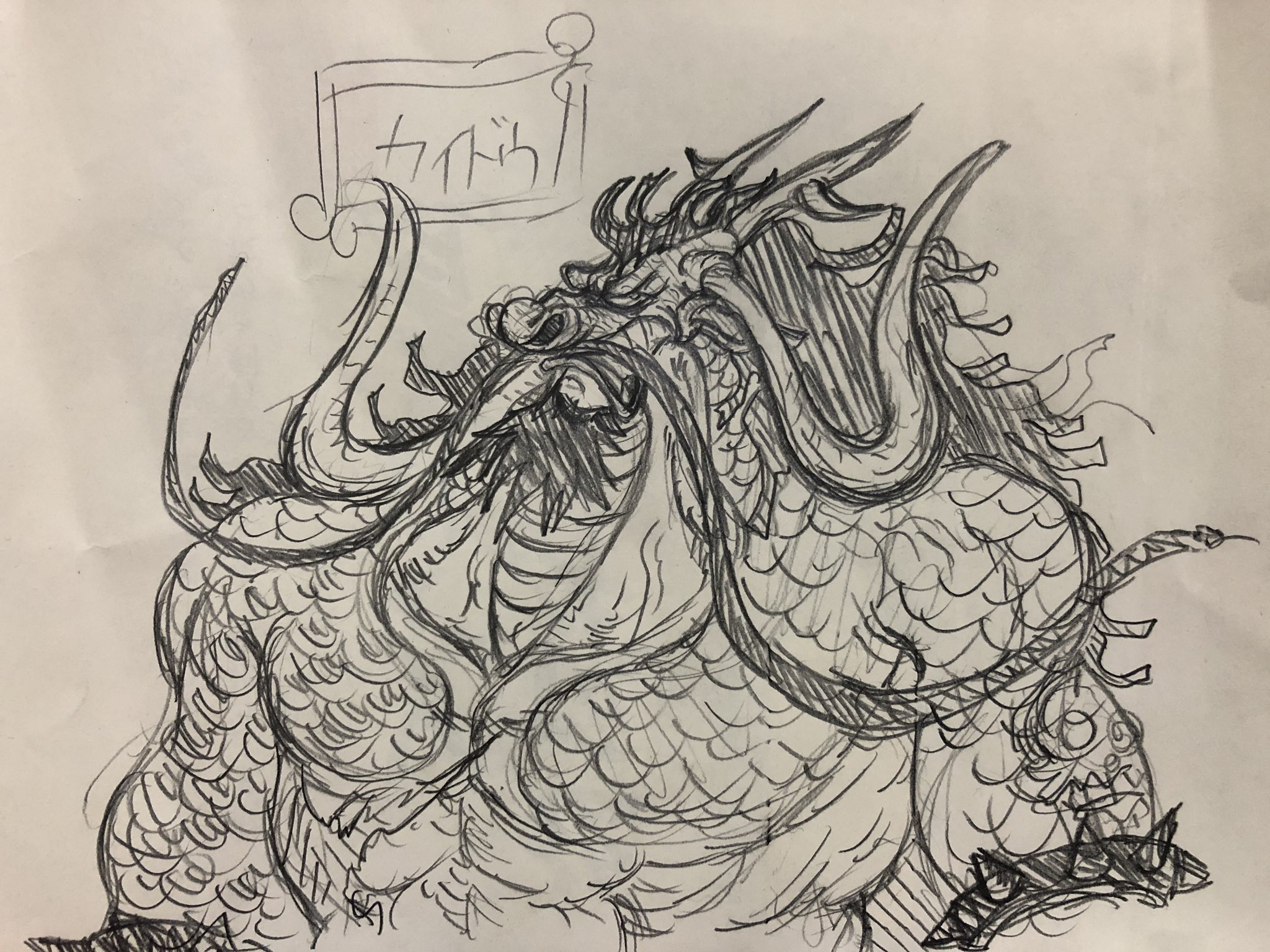 人 型 カイドウ 獣