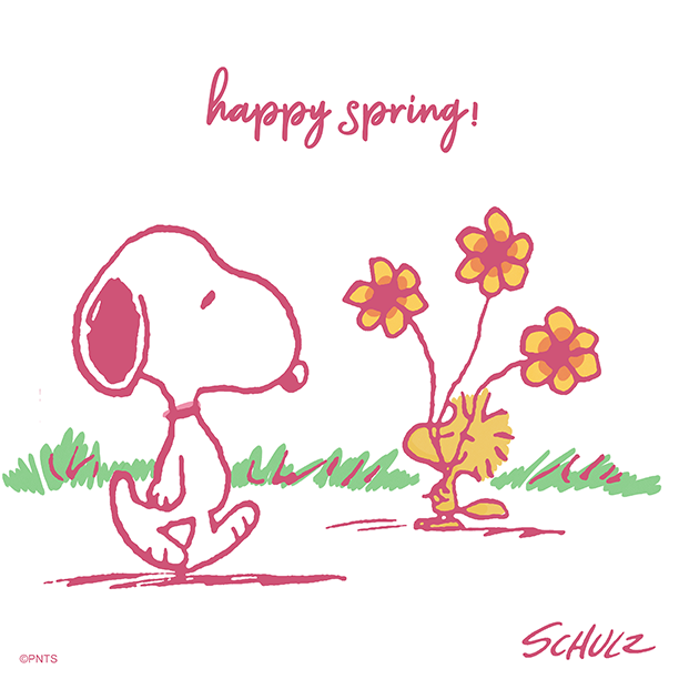PEANUTS's photo on Happy Spring