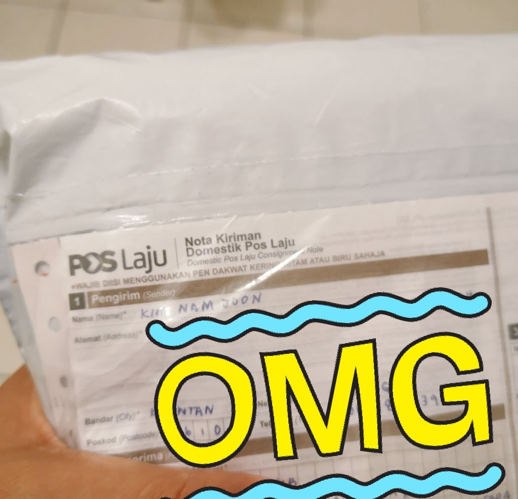 Ohoh! A parcel from my love???   Thanks @sweetaeeee, parcel arrived yesterday at my aunt&#39;s office &amp; tomorrow I&#39;ll be there to get it oyeahhhh!  #HYYH #TheNotes1 <br>http://pic.twitter.com/ZGhT0jynl1