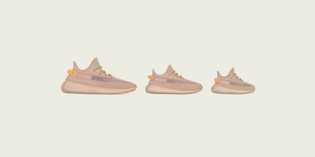 a89143008 YEEZY BOOST 350 V2 CLAY. AVAILABLE MARCH 30 EXCLUSIVELY IN NORTH AMERICA AND  LATIN AMERICA. KIDS AND INFANTS AVAILABLE ONLY IN THE US AT ...