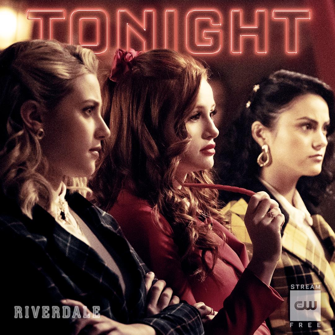 RT @CW_Riverdale: Meet the Heathers. #Riverdale is new TONIGHT at 8/7c on The CW! https://t.co/7AX804UbsV