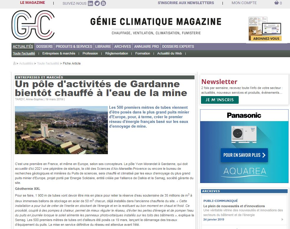 big sale 7e676 eb049 Un projet pionner porté Dalkia et la Semag. Article à lire dans  GC actu  http   ow.ly IfIj30o7qZk pic.twitter.com zVVg1ozmfH