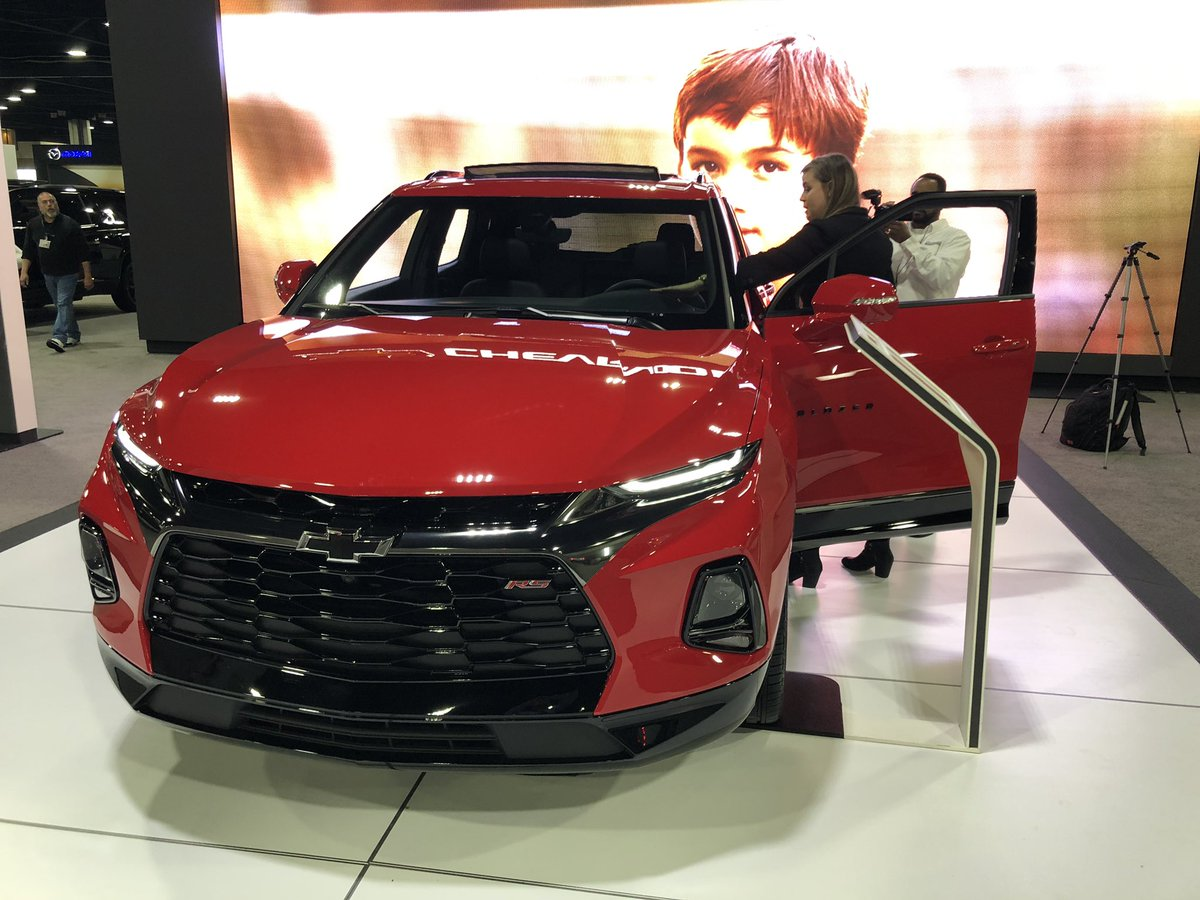 Come see the new @chevrolet #Blazer at #AIAS19! http://GoAutoShow.com