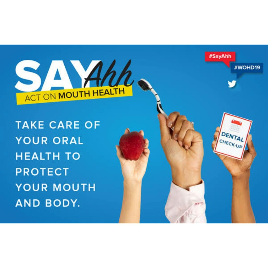 Today is World Oral Health Day.  Theme: SAY AHH: ACT ON MOUTH HEALTH.  AMSA in collaboration with SCOPH(Standing Committee on Public Health) -NiMSA worked on a project to celebrate this day and pictures will be uploaded soon  #AMSA #SCOPH #WorldOralHealthDay<br>http://pic.twitter.com/z2d4NshMIs