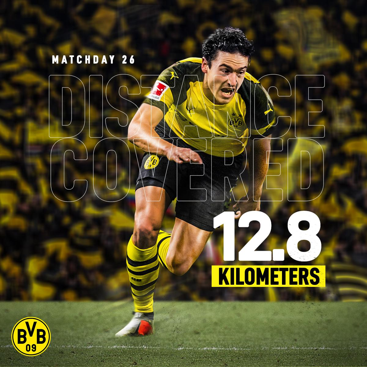 Thomas Delaney was MOVING on MD26, covering more ground than any other player in the Bundesliga 🏃‍♂️💨