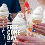 Image for the Tweet beginning: Happy Free Cone Day! We