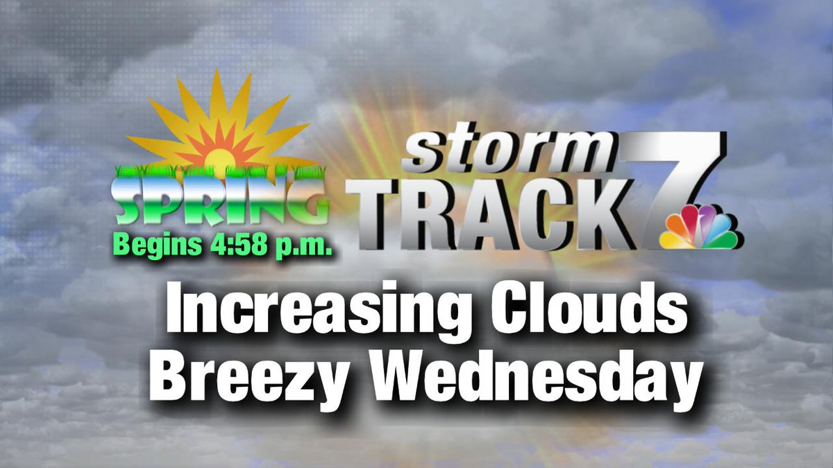 Say good-bye to winter. 👋  Spring begins at 4:58 this afternoon!  Temperatures will be seasonable, but it turns a bit breezy this afternoon. #kwwlwx https://kwwl.com/weather/weather-now/2019/03/20/tracking-dry-start-to-spring/?utm_medium=social&utm_source=twitter_KWWLStormTrack7…