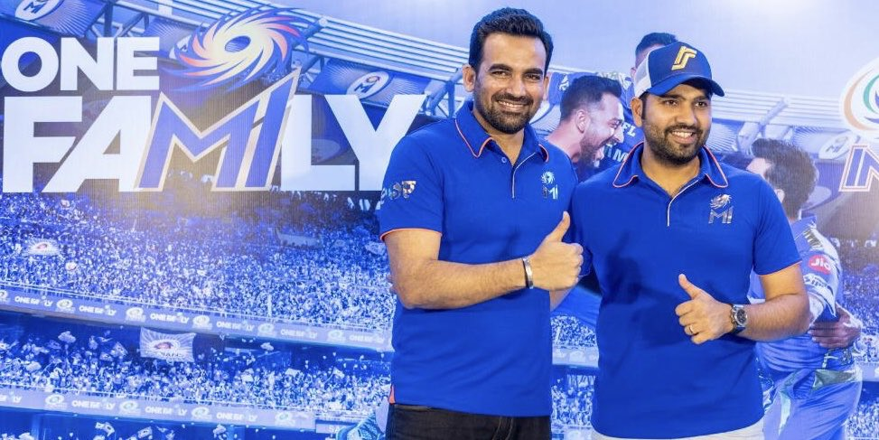 Great press conference yesterday! Now all eyes set on the season opener on the 24th March at the Wankhede. @mumbaiindians #OneFamily
