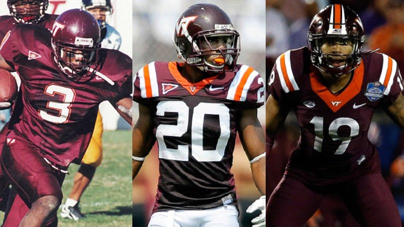 Today&#39;s #Hokies #DBU date is:  Ike Charlton / Jayron Hosley / Chuck Clark   #Legends<br>http://pic.twitter.com/ZV4PZdIbZ6