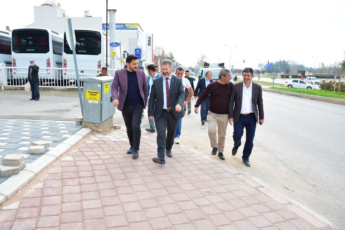 Kepez'de esnaflarımızı ziyaret ettik..Hasbihal ettik.. Kepez'de @HTutuncu Büyükşehir'de @menderesturel başkanımızla yola devam inşaallah..