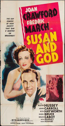 Joan Crawford in a decidedly un-Joan-like performance: #SusanAndGod 1940. #TCMParty https://t.co/pg7SoEkrUV