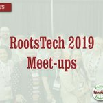 Image for the Tweet beginning: Meet-Ups at RootsTech 2019