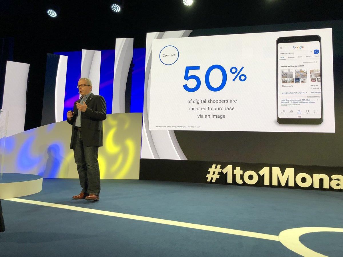 L'image influence 50% des shoppers ! #1to1Monaco #retail #ecommerce