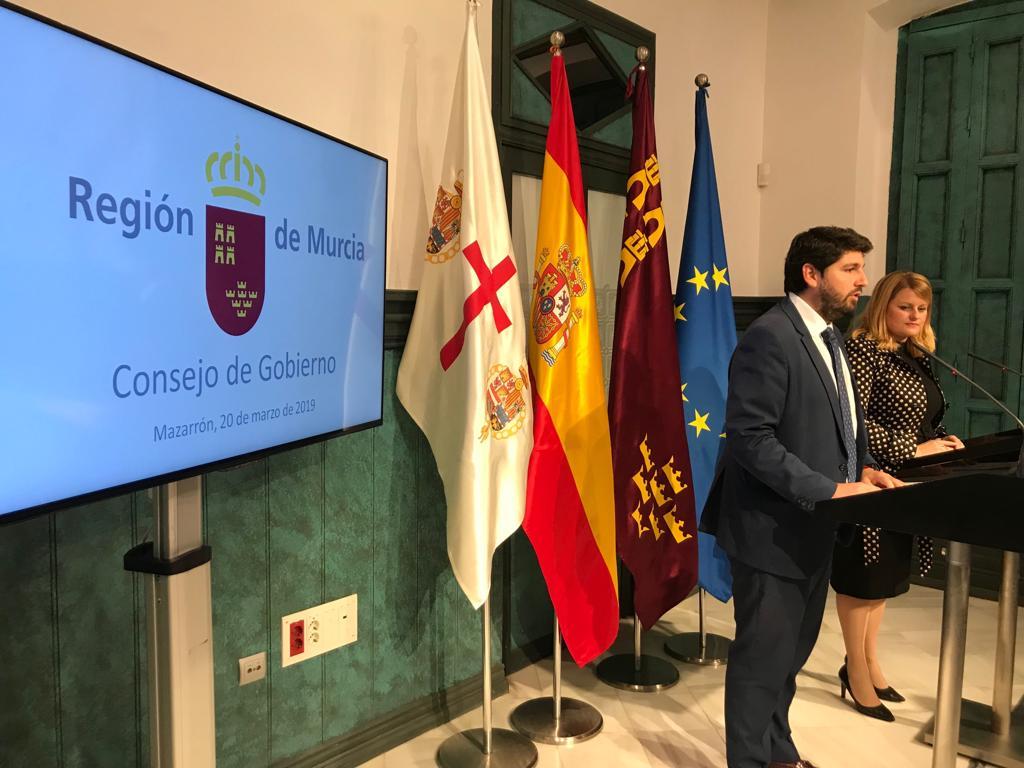 Calendario Laboral 2020 Murcia.Gobierno Regional On Twitter Consejorm Aprobado El