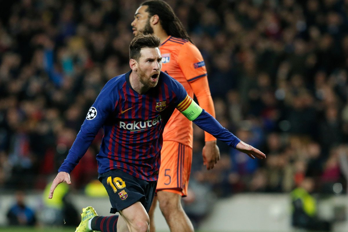https://t.co/hal9zyauKB VIDEO Barcelona 5 - 1 Lyon (UEFA Champions League) Highlights - MovaHub– Lionel Messi scored twice and set up two more as Barcelona reached the Champions League quarter-finals for a record 12th consecutive year ... https://t.co/BkE7iV9dy1