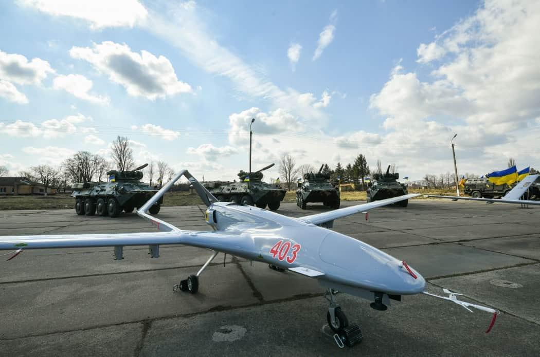 وفد أوكراني يبحث شراء طائرات بدون طيار تركية الصنع D2GTHEIWwAEgROG