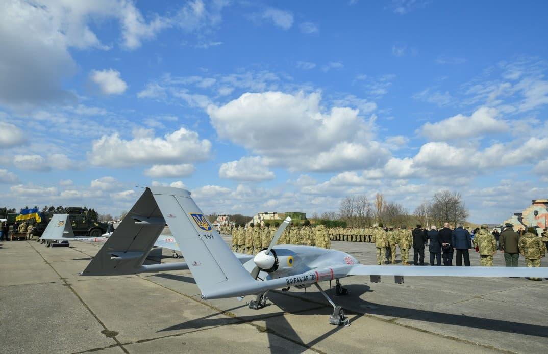 وفد أوكراني يبحث شراء طائرات بدون طيار تركية الصنع D2GTHESWwAAtvfz