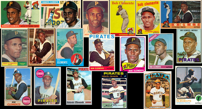 On 3/20/1973, BBWAA votes Roberto Clemente into the Hall of Fame in a special election. What's your favorite Clemente card?  #Cooperstown @Pirates