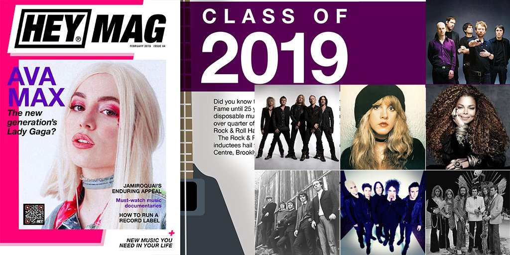 The prestigious yet controversial Rock &amp; Roll Hall of Fame Induction Ceremony is taking place March 29th. Check out our little write up of the legendary artists &amp; bands being inducted this year:  http:// bit.ly/HeyMag04-RnRHo F2019 &nbsp; …  #LongLiveRock #RockHall2019 <br>http://pic.twitter.com/5XXiGsvKDu