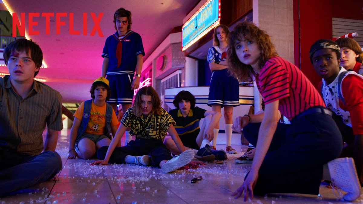 Lights, Camera, Pod's photo on Stranger Things 3