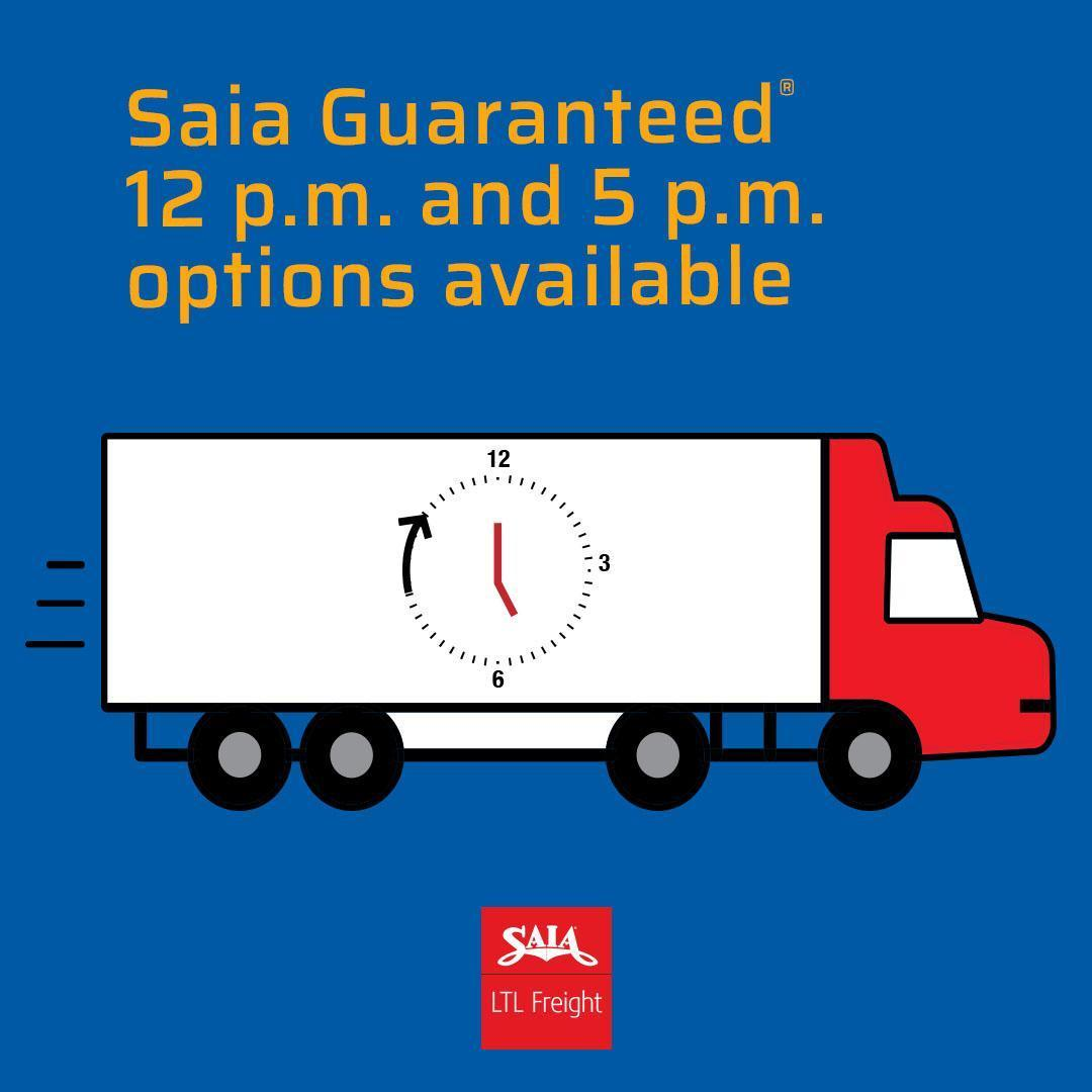You pick the time and Saia gives you peace of mind with reliable, on-time delivery. Learn more here: http://fal.cn/ilM7 pic.twitter.com/F1zH0BJrAS