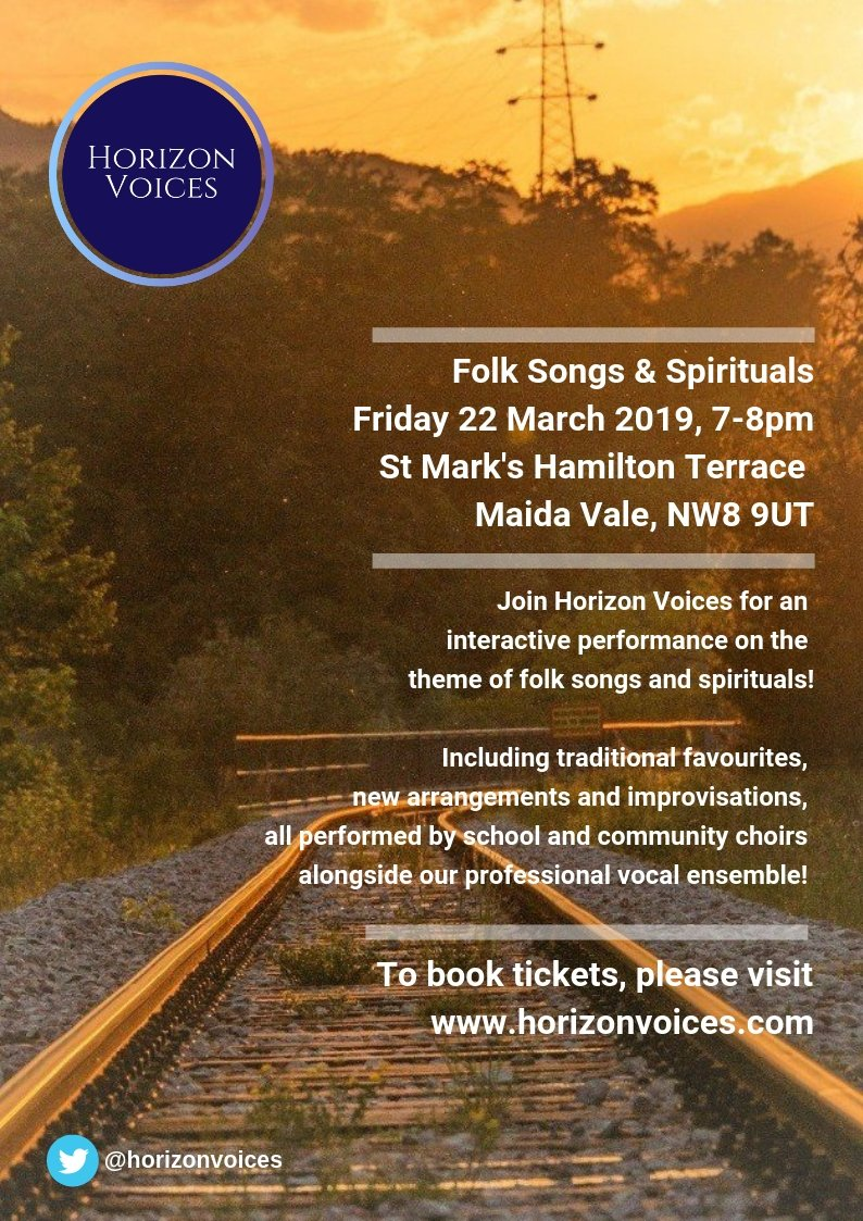 Two days to go - have you got your tickets? #folksongsandspirituals  http:// bit.ly/2SXNbGW  &nbsp;    #singing #community #musiceducation <br>http://pic.twitter.com/FjDruSduHb