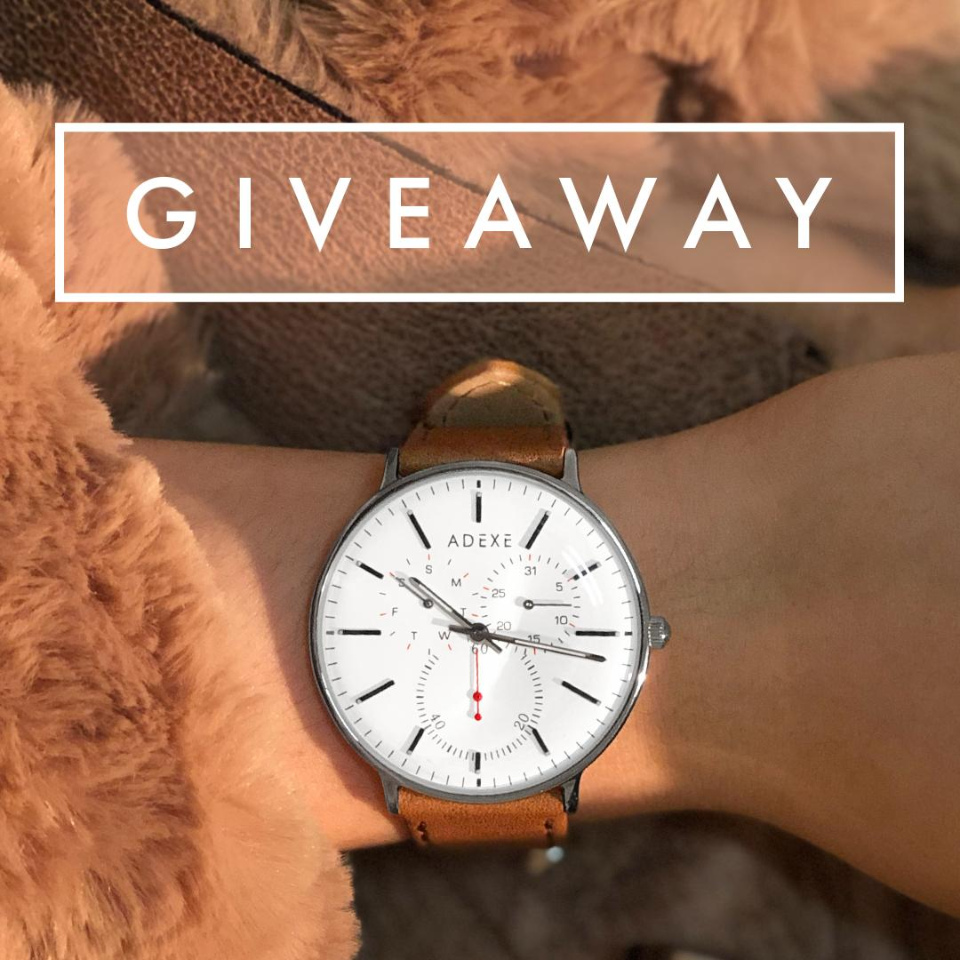 #GIVEAWAY  FOLLOW @ADEXE_Watch &amp; RETWEET for a chance to win a watch of your choice!  Ends March 27th. Good luck!   #giveaways #GiveawayAlert #GiveAwayOfTheDay #freebies #CompetitionTime #Competition #London #watches #freegift<br>http://pic.twitter.com/yVLd4Zoe86