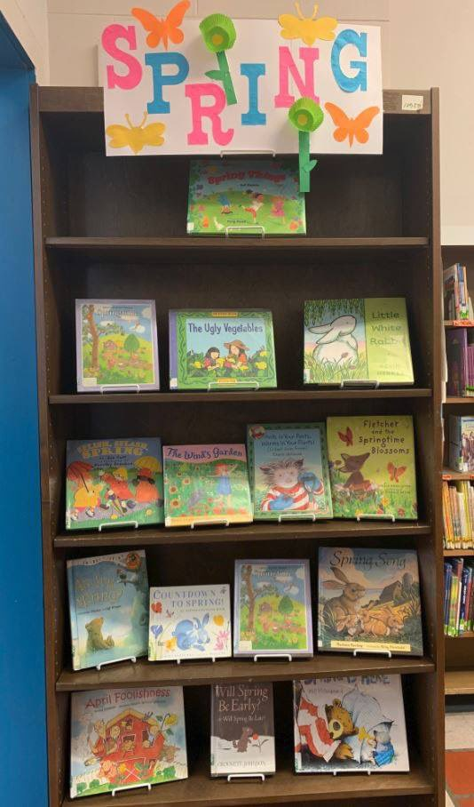 Happy first day of #Spring! Stop by Central Children's to check out some great #books about this #flowery, (hopefully) #sunny season!   #FLPkids #library #Philly #kidlit #firstdayofspring