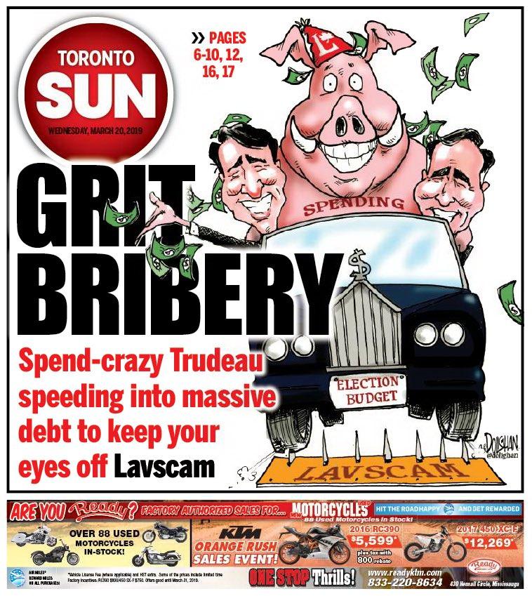 Toronto Sun's photo on #cdnpoli
