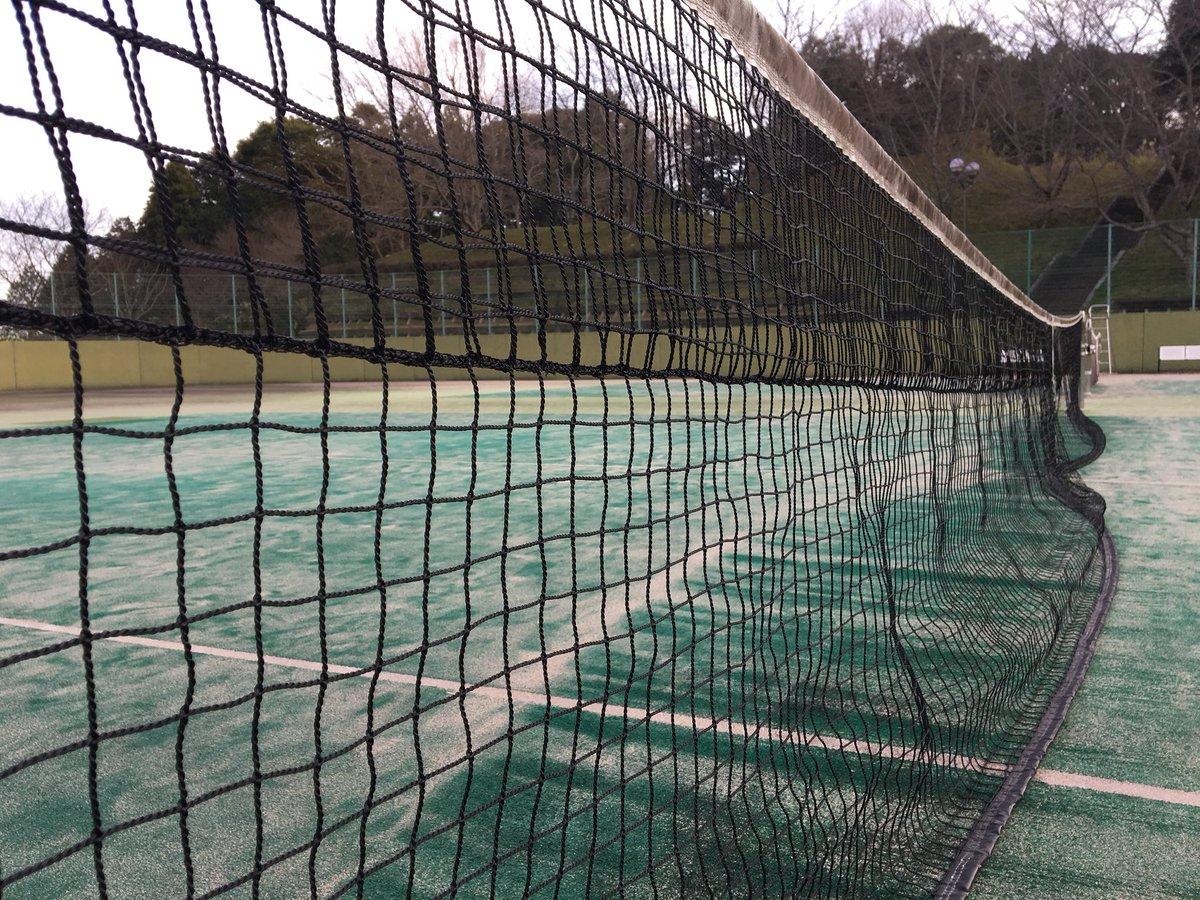 その辺のテニスコートで撮った写真にアプリで文字入れしてテニミュのカラオケ映像っぽくする遊びクッソたのしい
