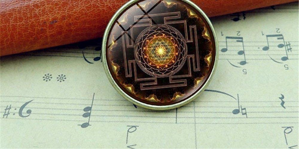 Sacred Sri Yantra Necklace &
