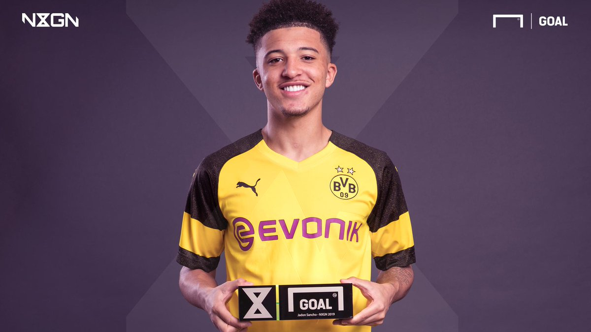 England and @BVB superstar @Sanchooo10 has been named the best teenager in the world   Check out the full #NxGn list of the world&#39;s 50 best wonderkids   http://www. goal.com/story/nxgn2019 en/index.html &nbsp; … <br>http://pic.twitter.com/B8adfDnpIT