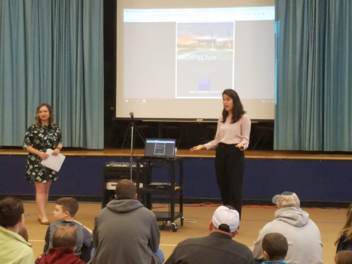 We had a great family STEM night last night @canadochly! We had 3 presenters talk about their careers as firefighters, nurses, architects, radio broadcaster, and a program manager for the national parks. Thank you so much to our presenters and staff for their help!<br>http://pic.twitter.com/TkXiUV0QCU