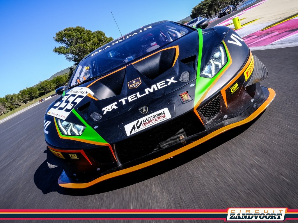 12-14 July: The impressive GT3 Supercars of the Blancpain GT World Challenge Europe will be fighting for victory at Circuit Zandvoort. A grid of 24 cars will line up for the event, including the Lamborghini Huracan GT3 EVO. 🏎 Info & tickets: http://www.circuitzandvoort.nl/gtworld 📸 SRO