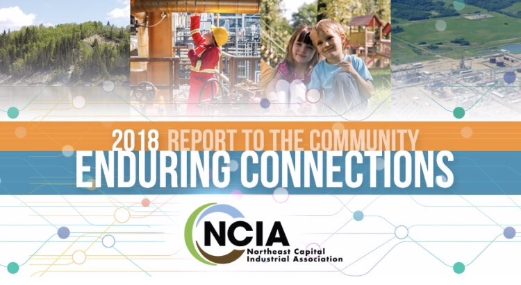 2018 Report to the Community:  We have a shared commitment to promote sustainable industrial growth and community wellbeing in Alberta's Industrial Heartland through environmental, socio-economic and public safety initiatives.   #FortSask #yeg #abheartland http://www.ncia.ab.ca/2018-report-to-the-community/ …