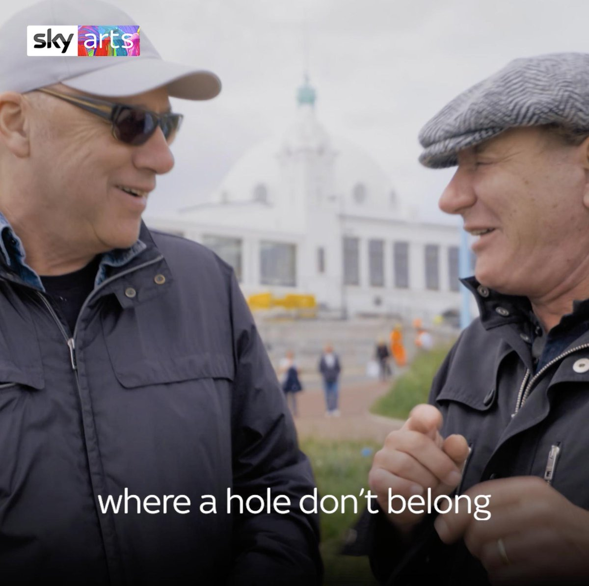 Who wouldn't want to hear @MarkKnopfler and @BrianJohnson sing 'The hole in the ground' by Bernard Cribbins. Brian returns to his hometown of Newcastle in A life on the road. We also hear Mark's inspiration for 'Sultans of Swing' 😂