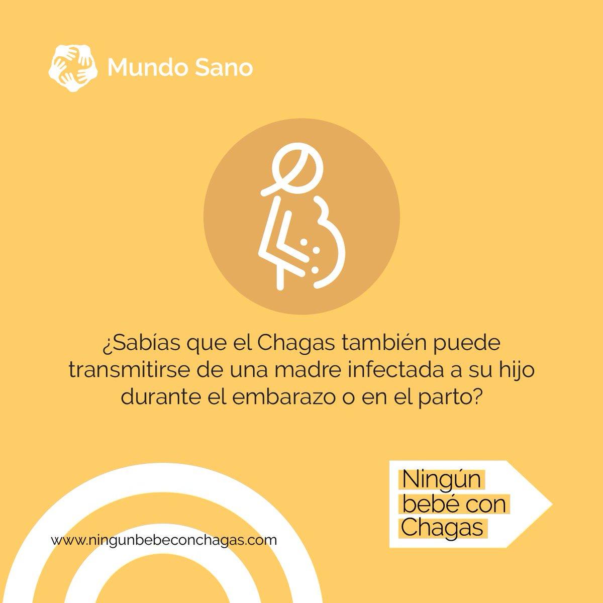 Cada hora nace un bebé con #Chagas en el mundo, juntos podemos hacer que sean cero. Adherí al compromiso y difundí 📲 #NingúnBebéConChagas  http://ningunbebeconchagas.com