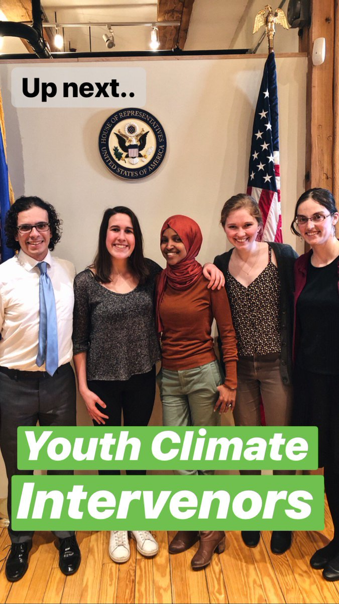 Thank you youth climate intervenors for stopping by the office yesterday! We&#39;re going to treat climate change like the national emergency that it is and work to #StopLine3<br>http://pic.twitter.com/3PCbTl6QmR