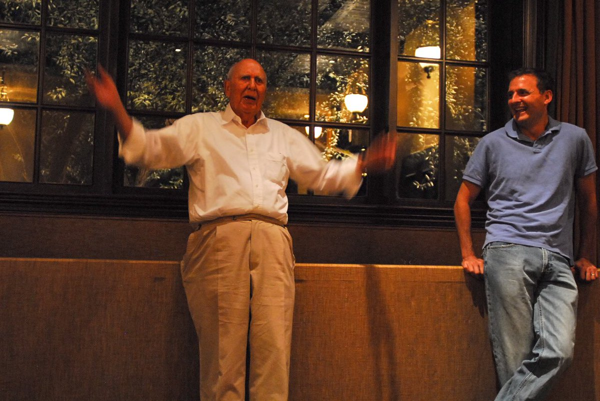 I've always looked up to .@carlreiner and today on his 97th Birthday, let's all thank him for his years of service: to the country, to comedy, to life in general. Carl, you make my life better.  <br>http://pic.twitter.com/NOs3jAUksO