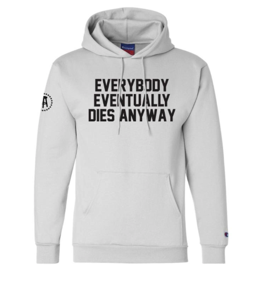 The Barstool Gambling line is literally just things @stoolpresidente and I keep saying to each other before tomorrow. Good news is it also doubles as generic motivational hoodies.   Buy ---&gt;  https:// store.barstoolsports.com/collections/ba rstool-gambling &nbsp; … <br>http://pic.twitter.com/INHEuYsRww