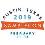 Image for the Tweet beginning: SampleCon: Austin, Texas 2019. Four