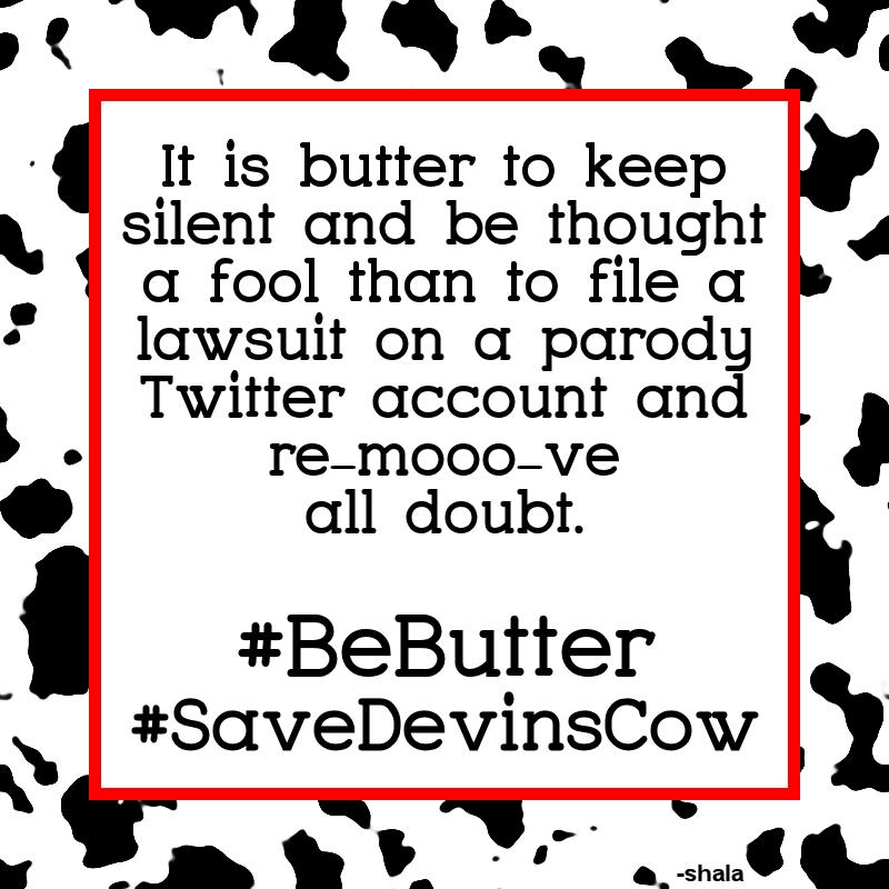 Devin Nunes you have got to #BeButter 😂🤣