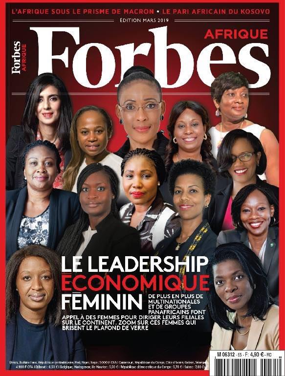 Forbes #Afrique numéro 55 du mois de mars. Dossier spécial « #Leadership économique féminin ». Dossier réalisé Par Patrick Ndungidi, sous la coordination de Michel Lobé Ewané.#africa #management #business @Forbes_Afrique